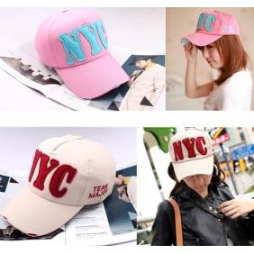 Korean Women's Men's Hip-Hop NYC Baseball Cap