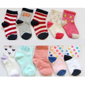 Cartoon Cotton Baby Kids Children Socks
