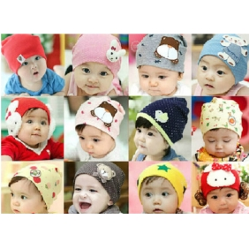 0 Months to 3 years 0ld Korean Baby Hedging Hat