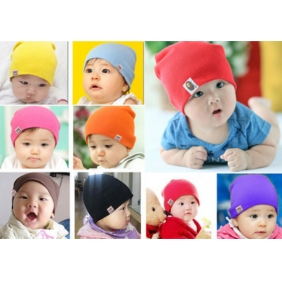Korean Newborn Baby Cotton Hat