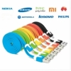 1 Meter Android Samsung HTC Xiao Mi Smartphone Common Use Micro USB Data Charging Cable