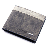 Personalized Korean Men Retro Matte Student Wallet
