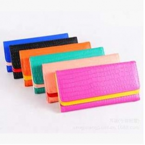 Korean Female Stone Pattern Long Wallet