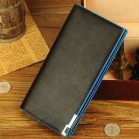 Men Long Section Leather Wallet