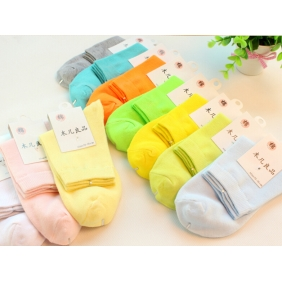Candy Color Female Long Socks