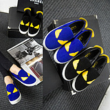 European Round Bottomed Flat Casual Couple Shoes