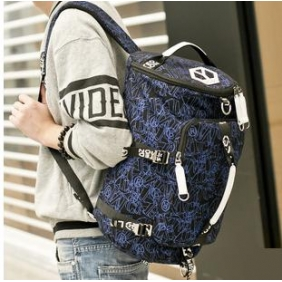 Fashion Cool Students large Capacity Canvas Shoulder Bag