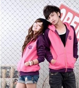 Korean Couple Unisex Hooded Cardigan Sweater Jacket