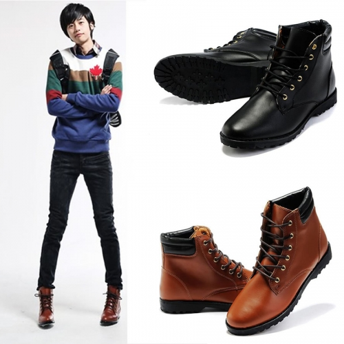 England Style Men Martin Boot Shoes