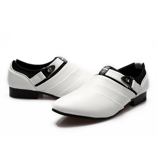 British Casual Men Pointed Shoes