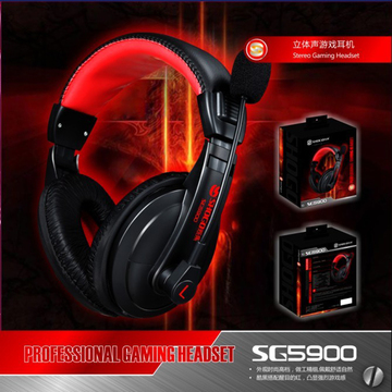 Computer Bass Stereo Gaming Microphone Headset