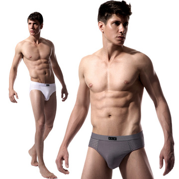Ice Silk Breathable Modal Bamboo Fiber Cotton Men\'s Underwear