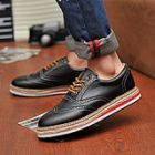 British Style Height Increased Heavy-Bottomed Men's Casual Shoes