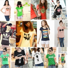 Korean Fashion Short Sleeve T-Shirt
