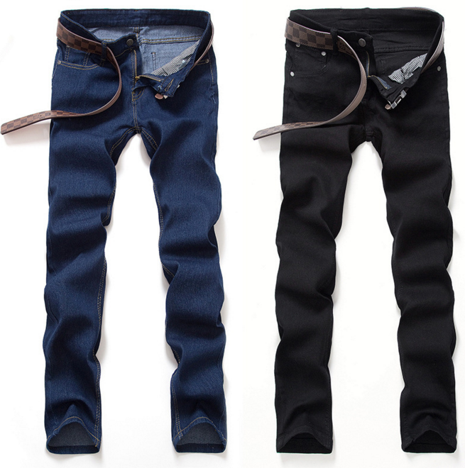 Men's Slim Fit Jeans Pants