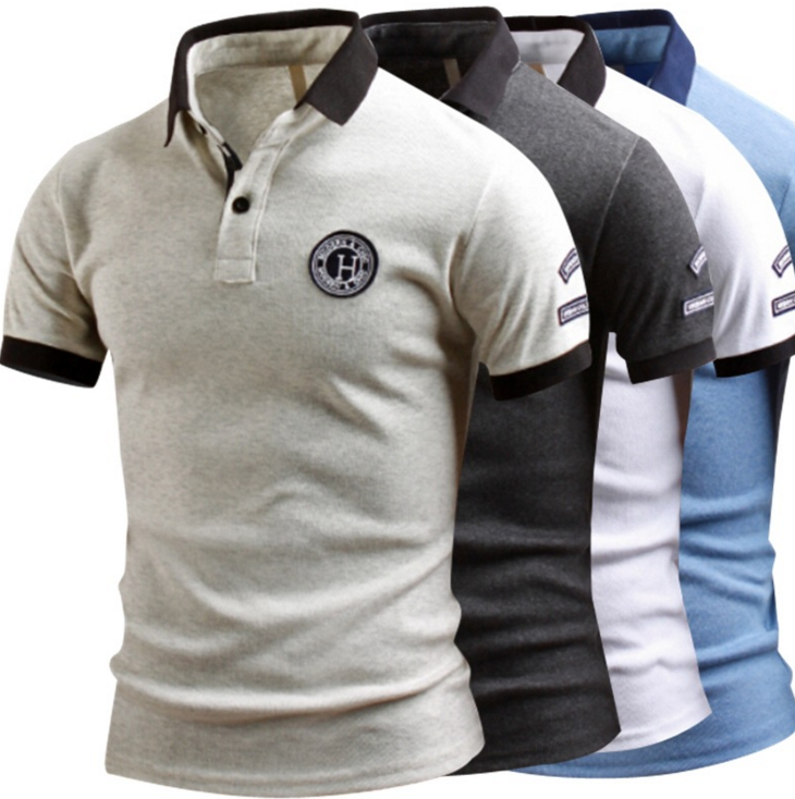 Slim Fit Casual Short-sleeved POLO Shirt
