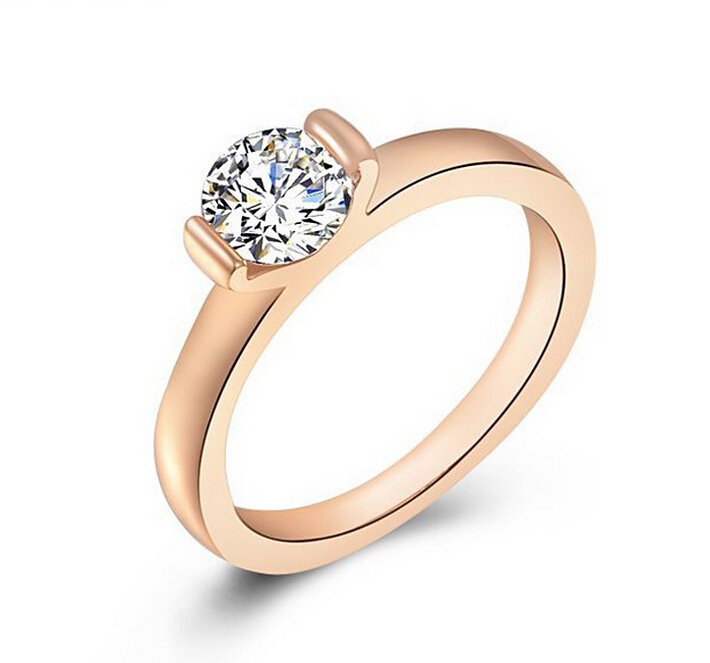 Europe Rose Gold Diamond Ring