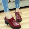 England Casual Thick Heel Shoes