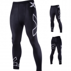 X Printing Quick Dry Tight Sport Trousers