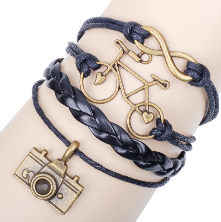 Bicycle Camera Manual DIY Bracelet