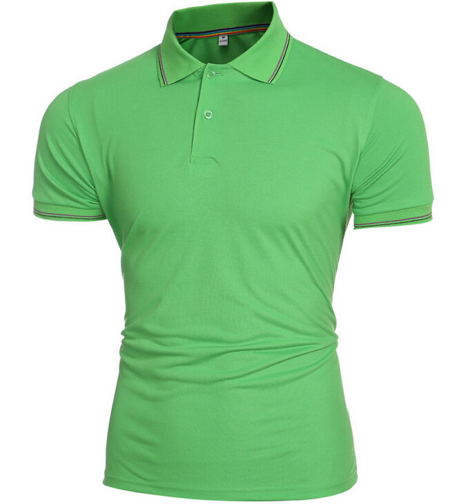 Men's Colorful Short Sleeve POLO T-shirt