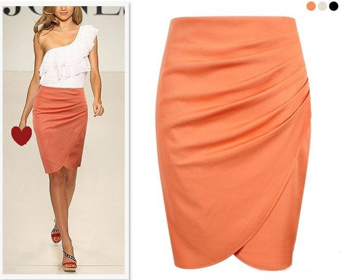 European OL Suit Pencil Formal Skirt
