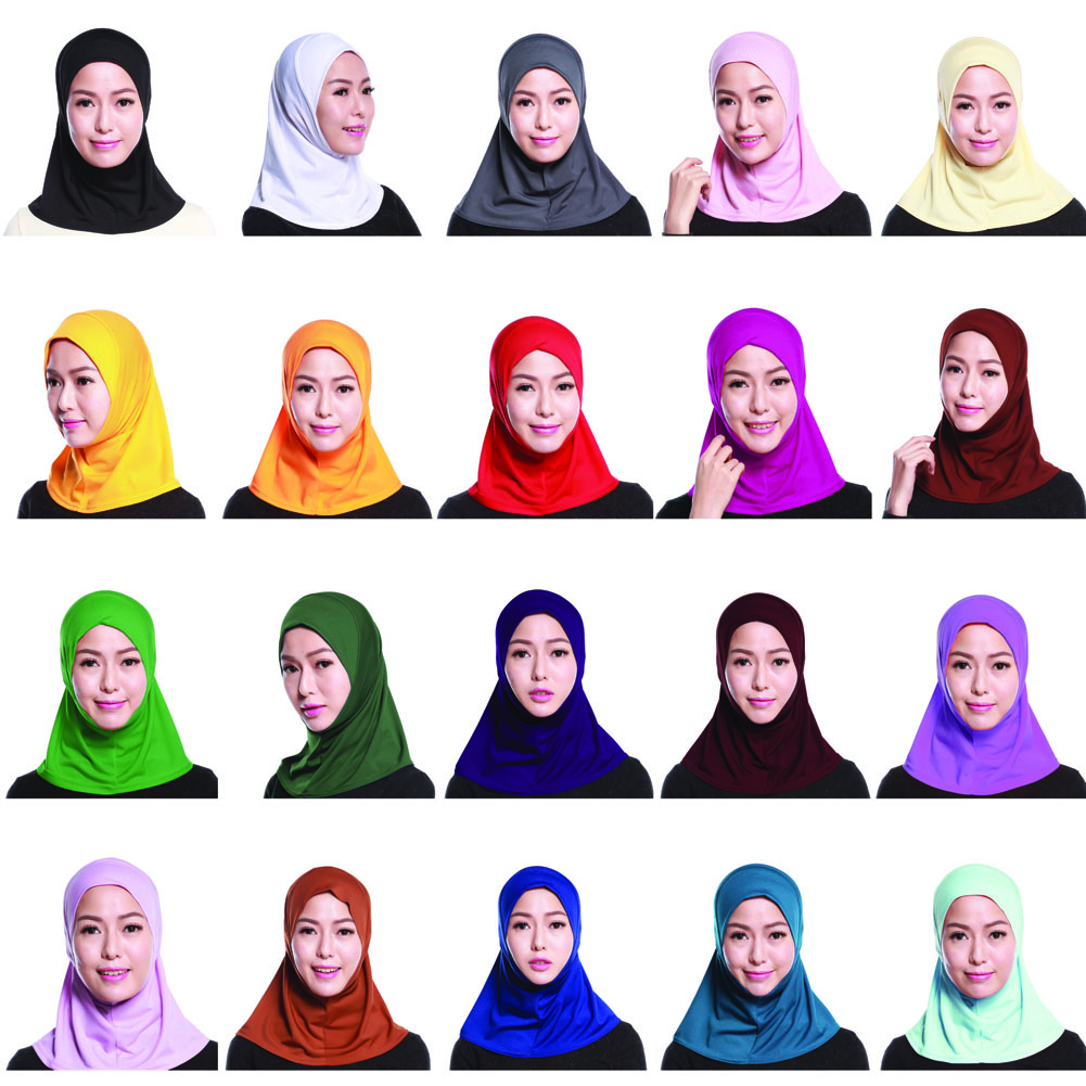 Crystal Hemp Muslim Mini Hijab Headscarf /Tudung