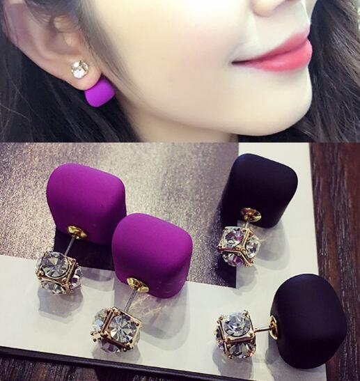 Korean Pearl Crystal Ear Clip Earring