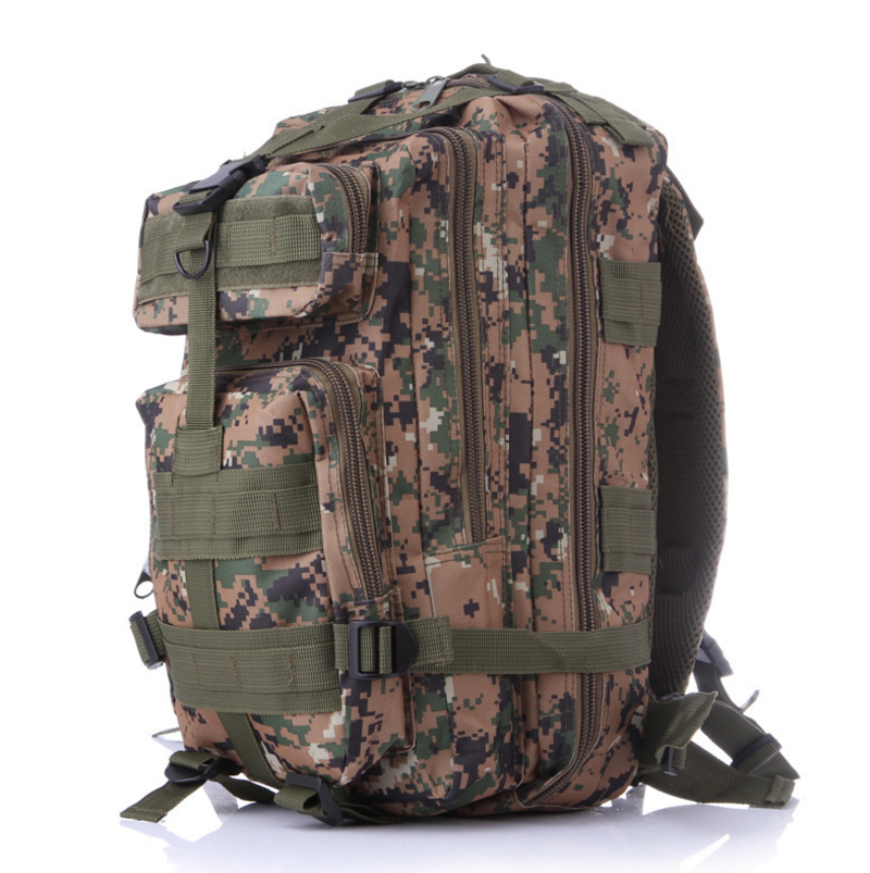 Outdoor Sport Camouflage Military Mountaineering Backpack Tactical Hiking Bag