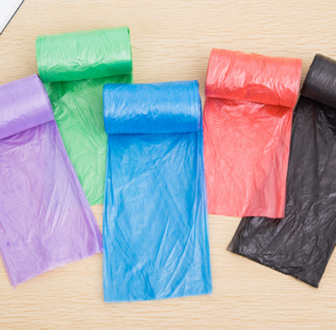 Colorful 20pcs Garbage Bags