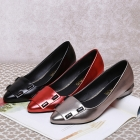 Korean Female Pointed Flat Shoes