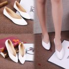 Women's Sweet Bow Pointed Flat OL Shoes