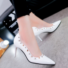 Korean Women Pointed High-heels Shoes