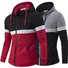 Men's Fashion Crash of Color Hooded Sweater