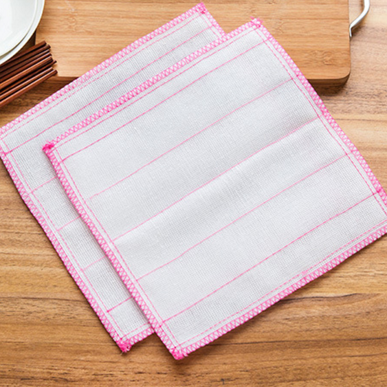 Kitchen Clean Dish Towel Nonstick Oil Absorbent