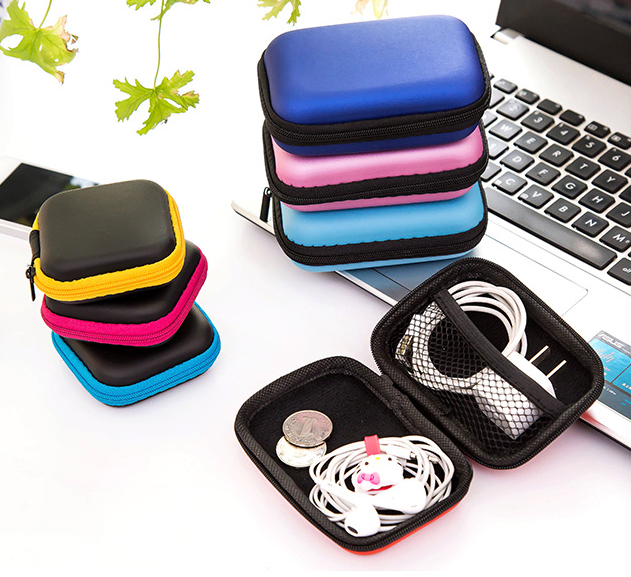Headset Phone Cable Mini Storage Box