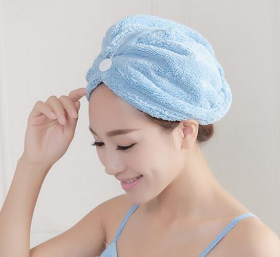 Super Soft Strong Absorbent Dry Hair Towel