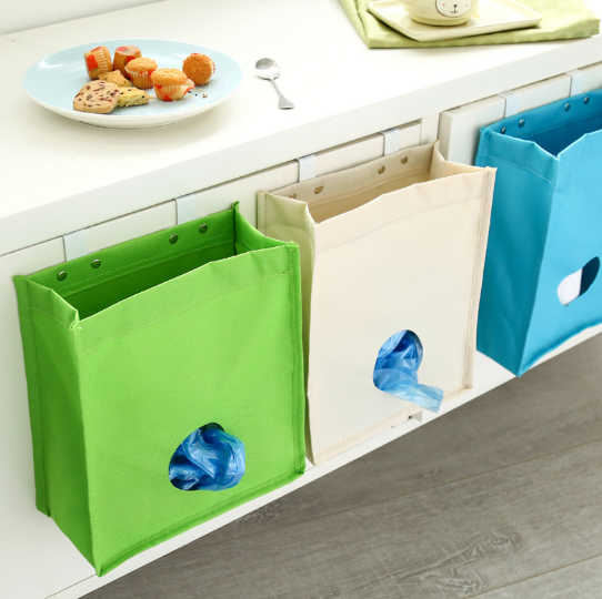 Kitchen Debris Extracting Cabinet Pouch