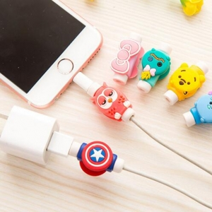 Cartoon Mobile Cable Anti-fracture Protection