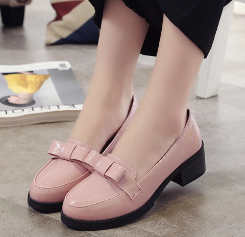Women's Vintage Bow Casual Shoes