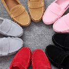 Korean Women's Flat Round Casual Shoes