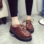 Japanese Fashion Women's Retro Thick Sole Oxford Shoes