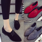 London Style Women's Vintage Pointed Head Casual Shoes