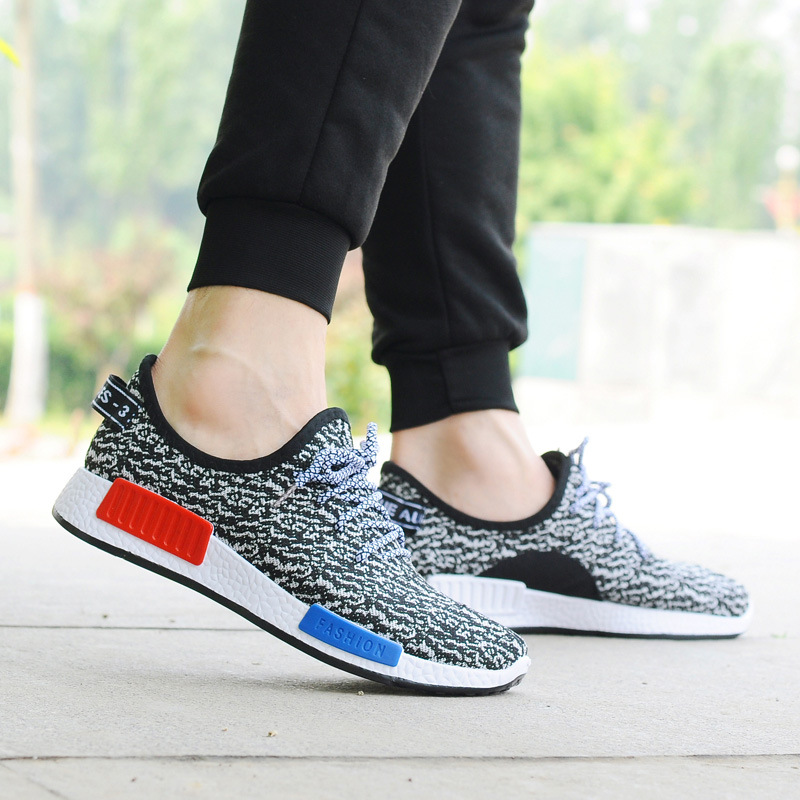Korean Couple Fashion NMD Inspired Comfortable Casual Sport Sneaker