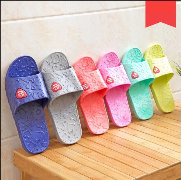 Women Simple Minimalist Home Interior Bathroom Anti-Slip Slippers Sandals