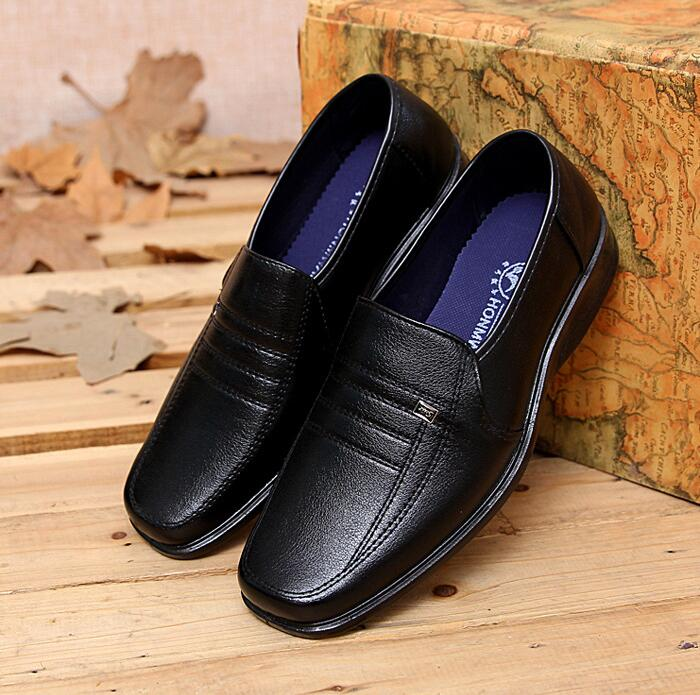 Korean Men's Fashion Casual Working Penny Loafer Shoes