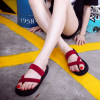 Korean Women's Fashion Cross Stripes Open Toes Design Casual Sandals