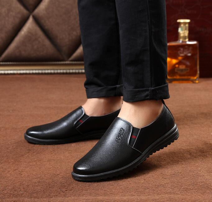 Business Men's Korean Fashion Slip-on Penny Loafer Shoes