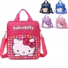 Girlish Sweet Hello Kitty Pattern Designs Sharp Color Comfy Small Kids School Bag