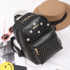 Korean Women's Fashion Floral Polka Dot Design Casual Travel Backpack